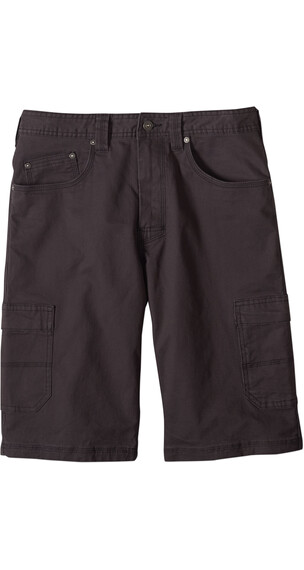 Prana M's Murray Relaxed Fit Short Charcoal